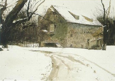 wyeth snow2