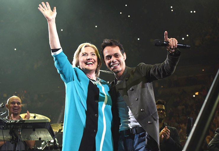 Hillary Marc Anthony